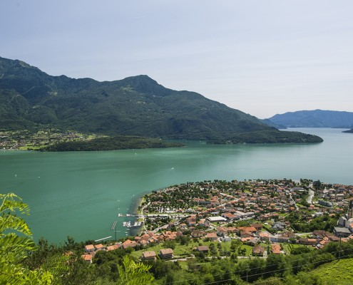 % Domaso Lago di Como vista da Caino Apartments