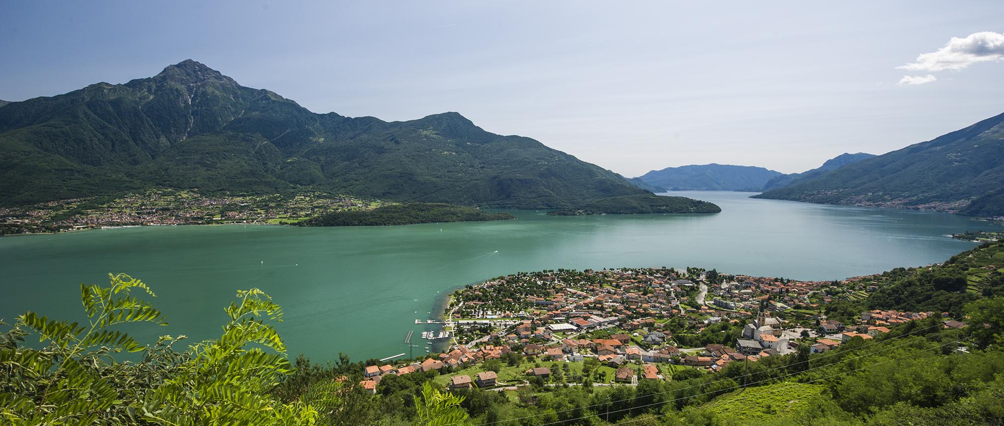 % Domaso Lago di Como vista da Caino Home