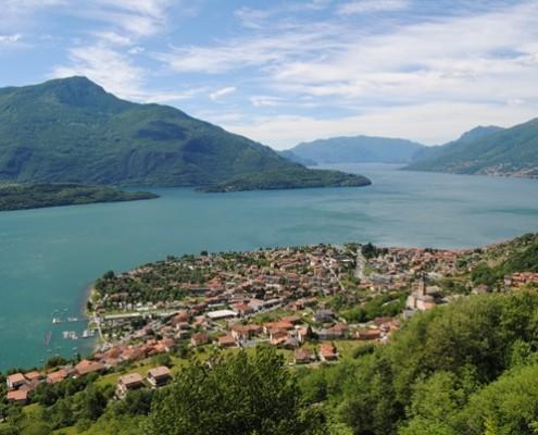% Domaso Lake Como Wohnungen