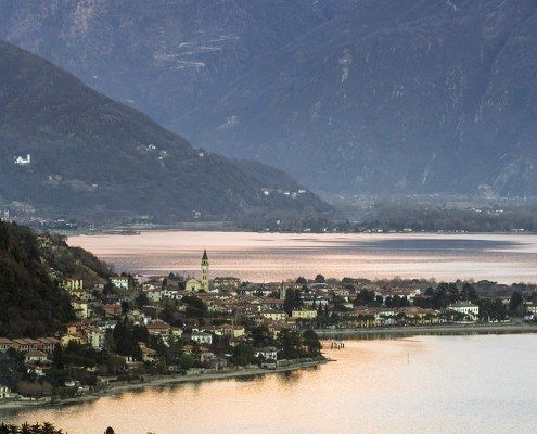 % View of Domaso Lake Como Apartlar