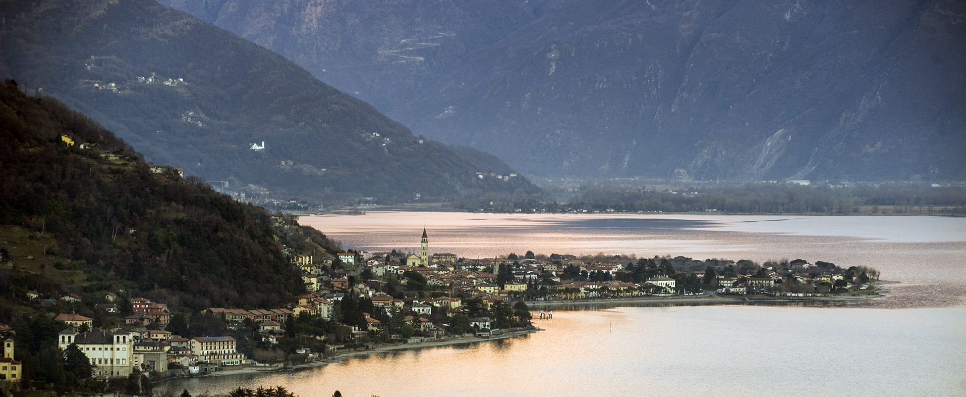 % View of Domaso Lake Como Home