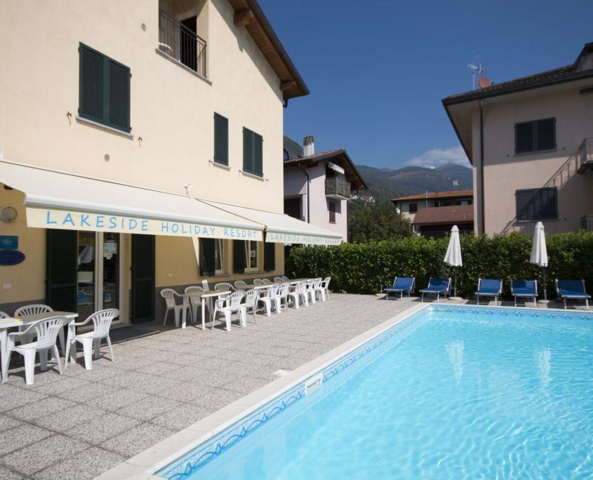 % Lakeside holiday Resort Reception Servizi