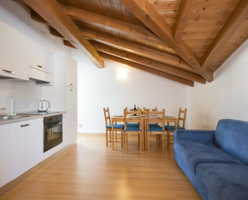 % livingroom attic2. Appartements