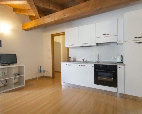 % livingroom attic3. Appartements